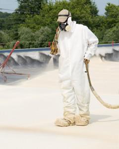 zateplenie plochej strechy striekanou pur izoláciou